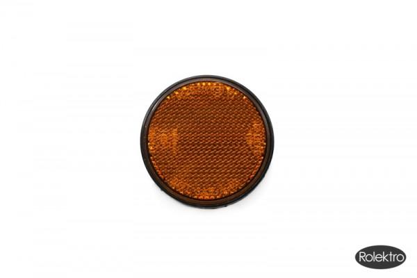 Carrier25 - Reflektor orange, rund