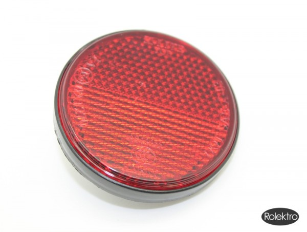 Trike25 - Reflektor seitlich, rund, rot