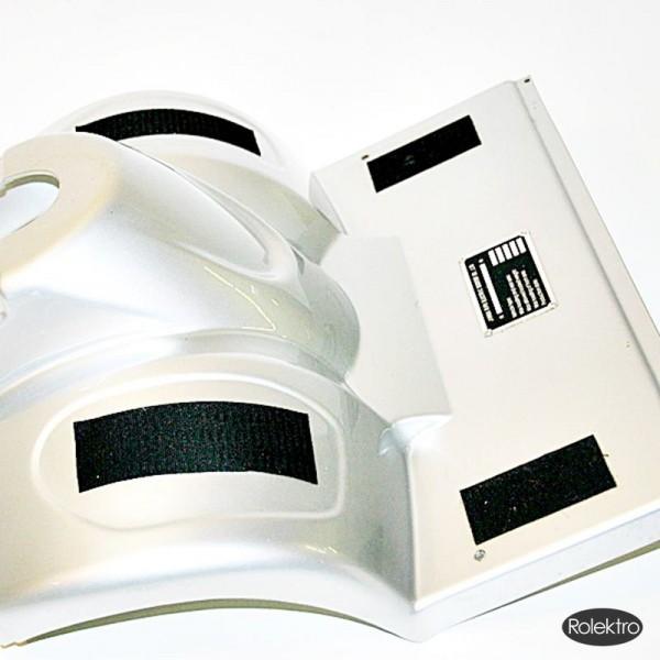 eco-Mobil 15 - Verkleidung Frontbau, silber