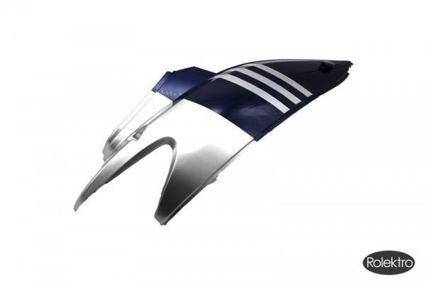 BT200/City20/45/V2 - Verkleidung : Hinten oberteil rechts, silber/blau