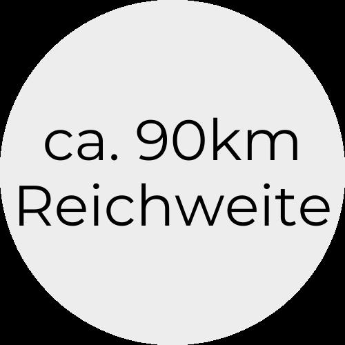 90kmReichweite