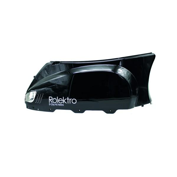 Retro45 - Seitenverkleidung hinten links, schwarz