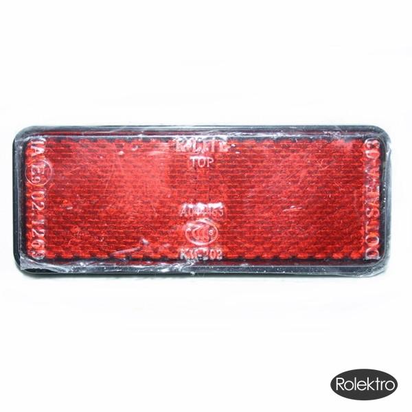 BT200/City20/45/V2 - Reflektor, eckig (Rot)