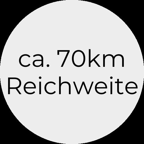 70kmReichweite