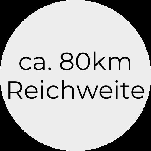 80kmReichweite