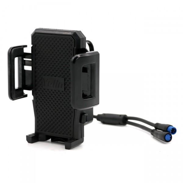 Joy20 - Halterung für Handy/Navi/GPS mit USB Ladegerät