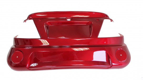 Trike25 - Verkleidung, Schürze hinten, rot lackiert