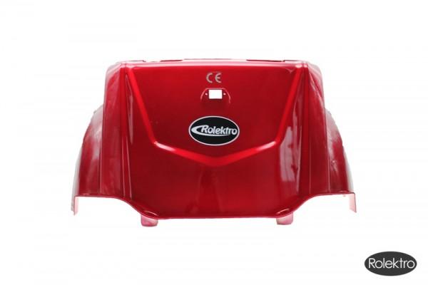Trike25 - Verkleidung, Sitz hinten unten, rot lackiert