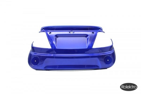 Trike25 - Verkleidung, Schürze hinten, blau lackiert