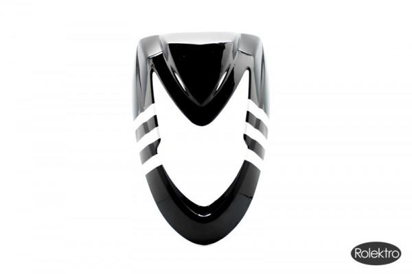 BT200/City20/45/V2 - Verkleidung : Front (oberer Teil), schwarz/silber