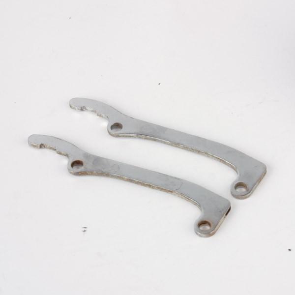BT125 - Bremsbelag Anpresshebel-Paar vorne