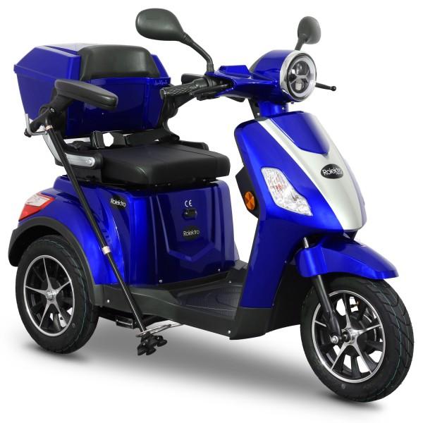 Rolektro E-Trike 25 V.2 Blei-Gel, Blau