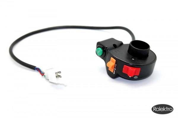BT200/City20/45/V2 - Bedienungselement neue Version, Schaltereinheit ohne Griff