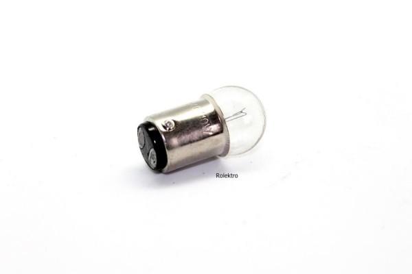 BT100 - Glühbirne 40V/10W, 2Pin, Frontscheinwerfer alter Roller