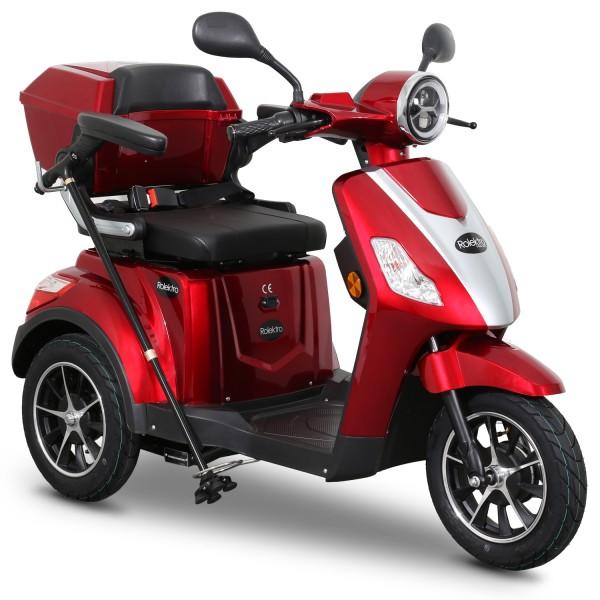 Rolektro E-Trike 25 V.2 Blei-Gel, Rot