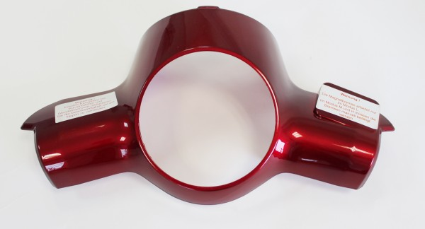 Trike25 - Verkleidung Lenker, rot lackiert
