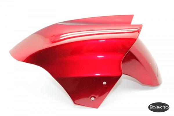 Trike25 - Verkleidung, Spritzschutz Vorderrad, rot lackiert