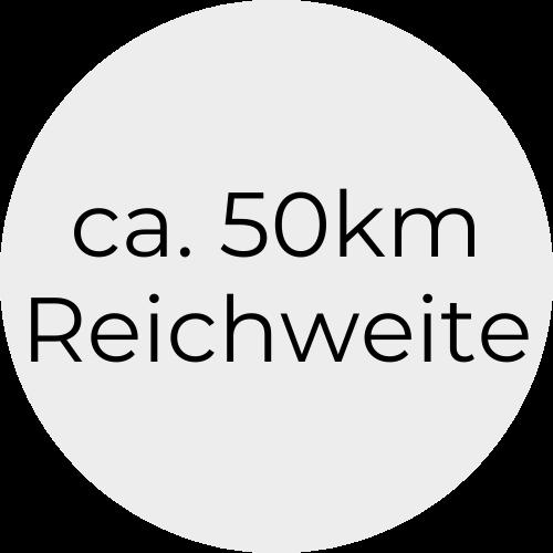 50mReichweite