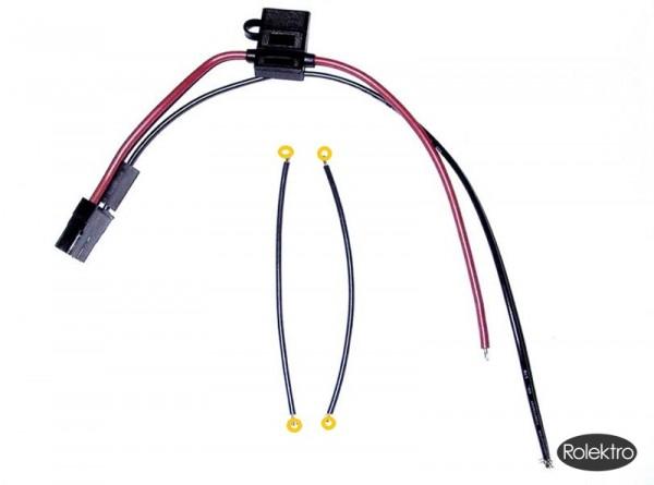 BT250 - Anschlusskabel Set für Akku