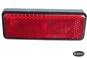 light40 - Reflektor , rot eckig