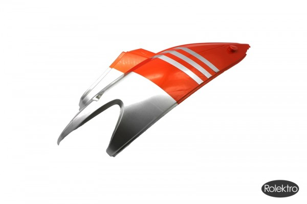 BT200/City20/45/V2 - Verkleidung : Hinten oberteil rechts, silber/orange