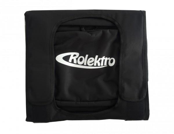 Rolektro-Z, Satteltaschen-Set, Schwarz, für City 20/45 V.2 Modelle