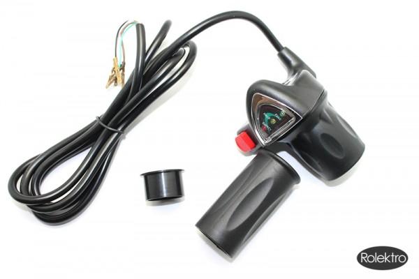 sprinter2 -Gasgebeeinheit mit Akkuladeanzeige u. Lichtschalter