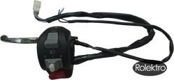 light40 - Schalteinheit für Licht, Blinker, Hupe mit Bremsgriff, linke Seite