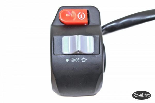 Quad15/25 - Schalter für Hupe, Scheinwerfer