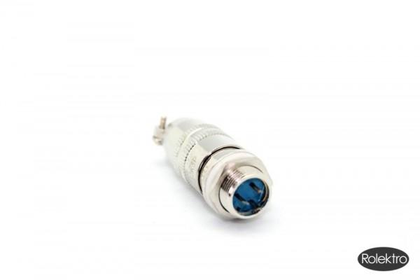 BT250 - Stecker / Buchse (Metall), für Brems/Rücklicht