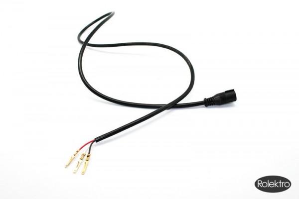 BT250 - Stecker, Gummistecker mit Kabel für Brems- Rücklicht unten am Roller