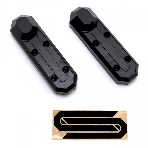 Kick20 - Plastikabdeckung Vorderrad, für rechts und links, mit Klebesticker