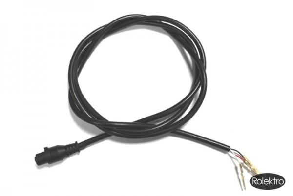 BT250/Fun20/Fun20-2 - Buchse, 3 pol, mit Kabel 107cm
