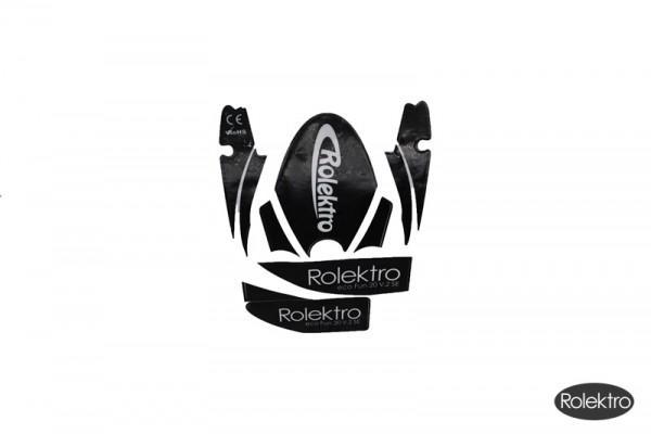 Fun20V2 - Rolektro Sticker, schwarz