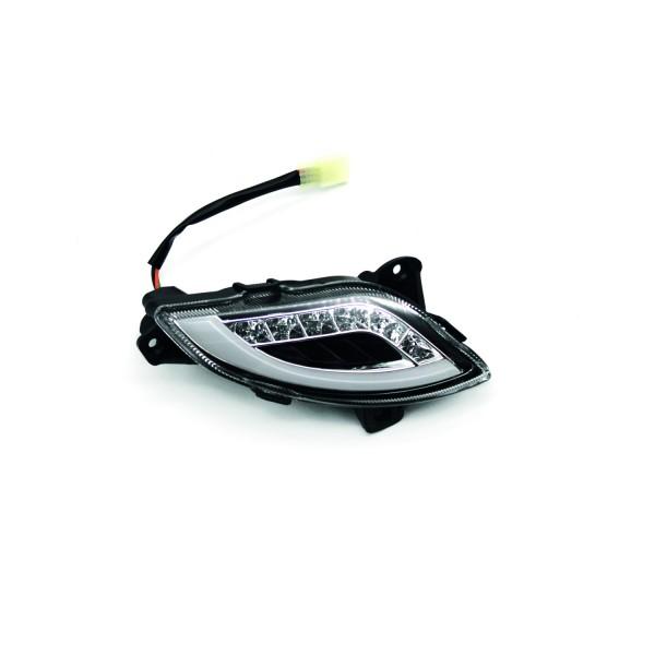 Retro45 - Blinker vorne, links mit LED Tagfahrlicht